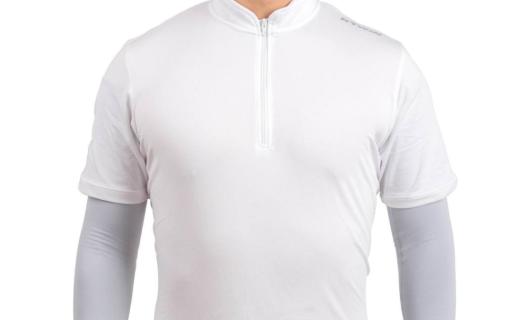 迪卡儂騎行防曬袖套:輕盈彈性臂袖,舒適配戴排汗防曬