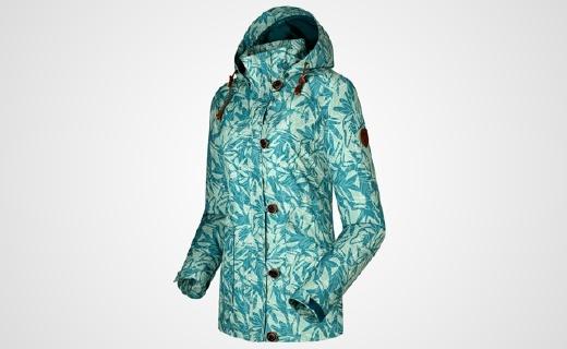 GORE-TEX面料頂級沖鋒衣,顏值高到能當風衣穿
