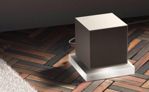 超节能的便携电暖气,极简风发热效率提高120%