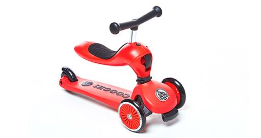 """兒童滑板車中的""""變形金剛"""",能滑還能騎 — 酷騎兒童滑板車測評"""