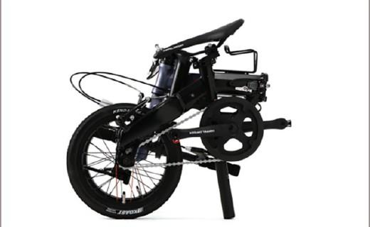 可單手攜帶的折疊自行車,春季旅游好選擇!