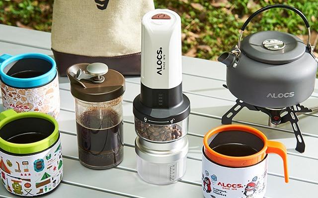 愛路客戶外魔咖2電動咖啡機套裝