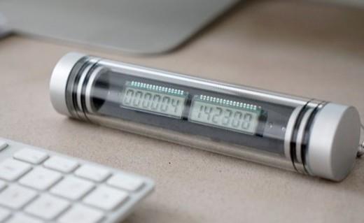 造型奇葩能記2740年的電子時鐘,留得住永恒么?
