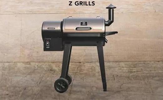 数字控温的户外烤炉,无油烟还能双层烤