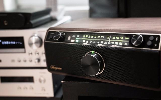 来自夜空的温柔,山进WR12BT 收音机音箱开箱评测