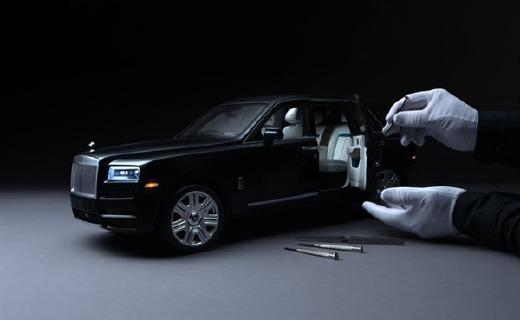 勞斯萊斯600萬豪車降價?40萬的庫里南竟然只是一個模型