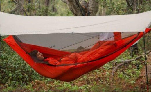 野营神器!帐篷/吊床二合一设备正在众筹,体验舒适价格太扎心...