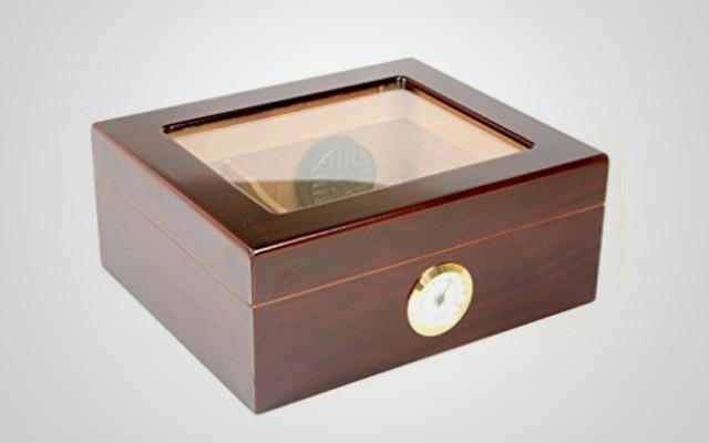 桌面雪茄保湿箱