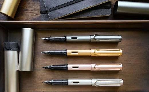 凌美50周年紀念Lx系列鋼筆,金屬筆身質感出色