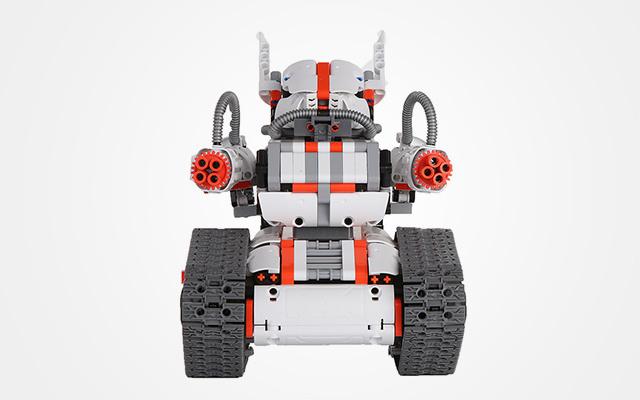 米兔积木机器人履带机甲