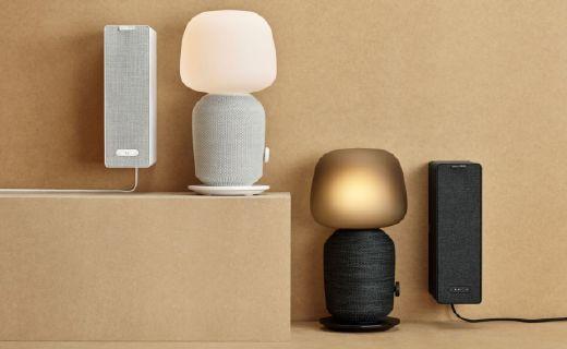"""宜家 Sonos合作音箱:沒有""""語音助手"""",但設計很""""IKEA"""""""