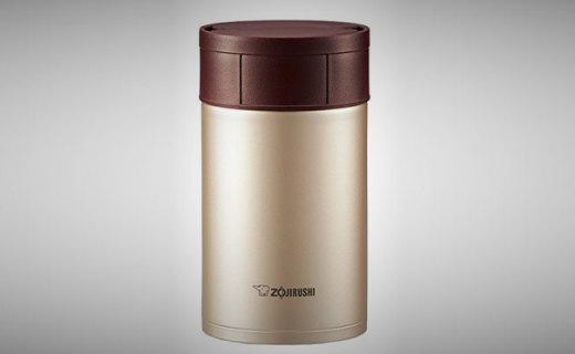 象印焖烧杯:光滑不锈钢易清洗,保温能力出众