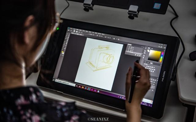 接近真實的紙筆繪畫|繪王(HUION)Kamvas Pro體驗