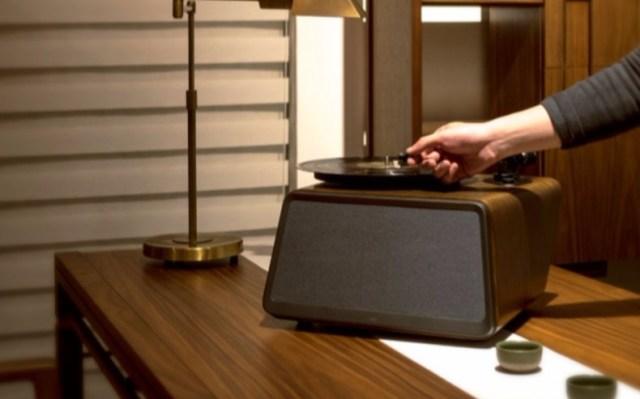 嘿哟黑胶唱片机蓝牙音响