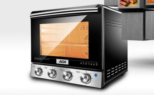 北美电器ATO-M38AC电烤箱:精准温控口感出色,循环风受热均匀