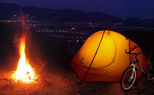 挪客单人户外帐篷:轻便易携带,防水防风还能遮阳