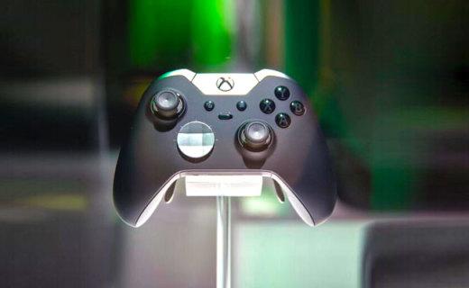 微軟Xbox Elite手柄:自定義按鍵暢玩游戲,類膚材質手感舒適