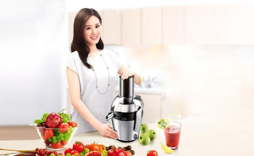 飛利浦HR1871榨汁機:創新倒置式濾網,大容量省時省力