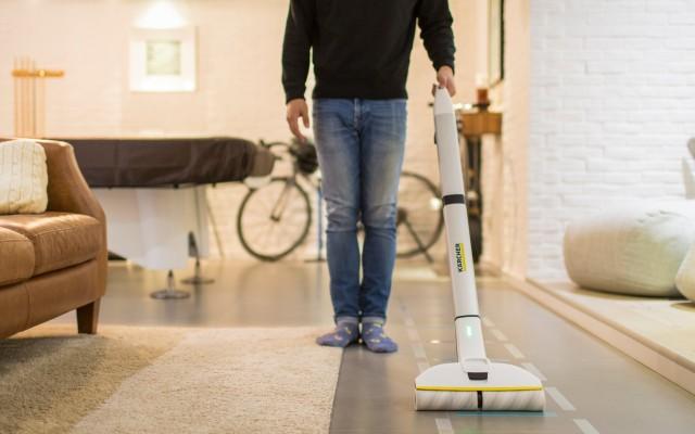省?#31508;?#21147;的好帮手,让你爱上做家务 | 卡赫FC3d无线自清洁擦地机