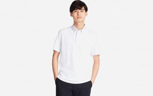 优衣库男士Polo衫:舒适透气简约风,打造斯文绅士造型