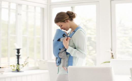 Baby Bjorn婴儿背带:网面设计不闷热,贴身感受宝宝心跳