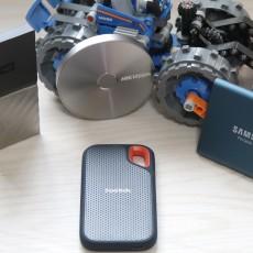 不給你看不能碰 四款600元級500G可加密移動SSD橫評