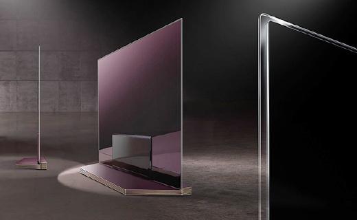 2.57mm!LG新電視薄成一片紙,畫質也是個極品