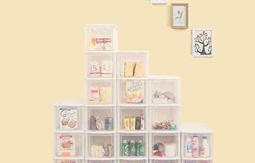 爱丽思整理柜:食品级PP材质安全环保,占地小容量大