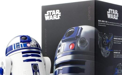 Sphero R2-D2機器人:高還原星戰R2-D2機器人,智能互動趣味十足