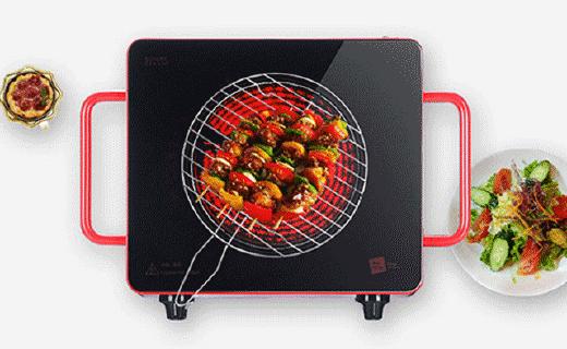 米技Home Cube4電陶爐:燒烤火鍋一機搞定,紅外加熱靜音無輻射