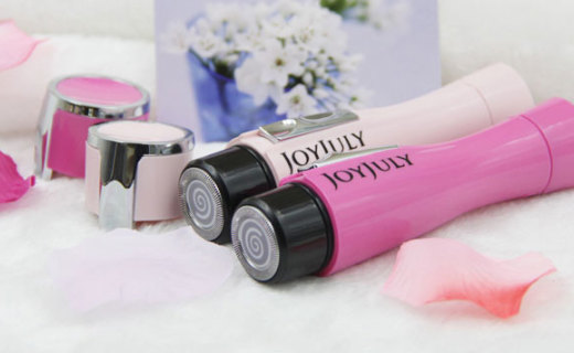 Joyjuly女式電動剃毛器:干濕兩用,隨時隨地隨便脫