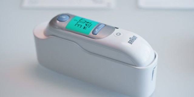 來看看旗艦級體溫計長什么樣——德國博朗IRT6520體溫計