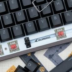 RGB、機械、靜音全都要,杜伽K310鍵盤靜音紅軸入手體驗