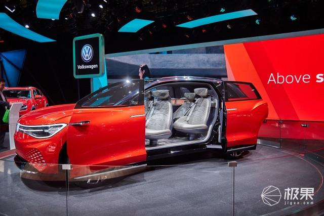 上海车展 大众ID.ROOMZZ图赏:极简内外造型,L4级自动驾驶,未来出行新愿景