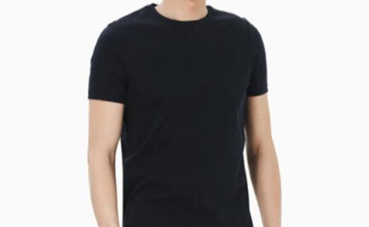 INTERIGHT水柔棉男士T恤 :舒适水柔棉面料,经典版型百搭好款