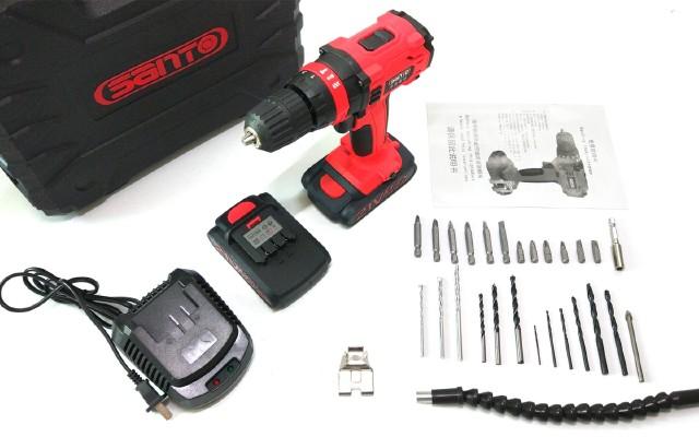 精致耐用,家庭DIY好帮手——赛拓21V锂电冲击钻套装开箱