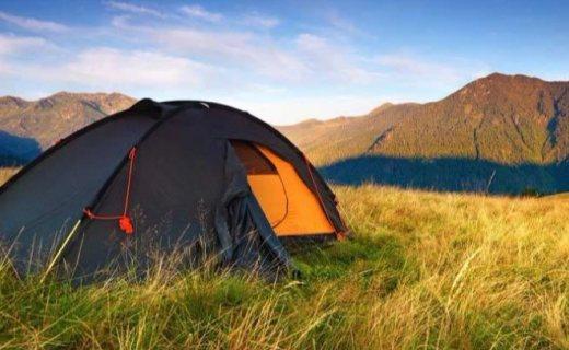 Ultrasport露營戶外帳篷 :玻璃纖維輕盈便捷,半圓形設計有效防風