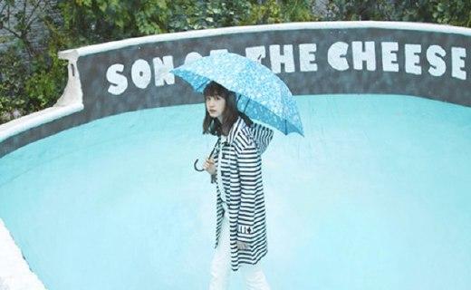 W.P.C 條紋雨衣:能做雨衣能做風衣,下雨天也超時髦