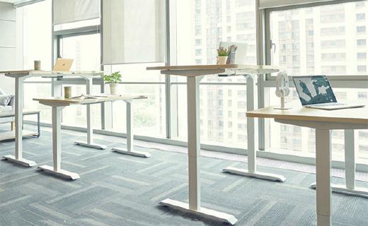 9-A-M PESK辦公桌:四檔高度記憶隨意升降,從此遠離腰椎頸椎病