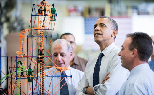 比乐高?#25346;?#28779;的美国积木,奥巴马都在买!