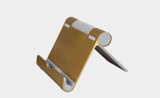 BOW鋁合金支架:鋁合金材質穩定性出色,多角度可調