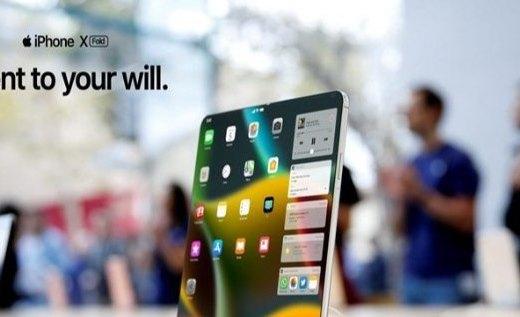 可折叠iPhone渲染视?#28783;?#20809;:后置三摄+超级屏幕,这外观你能接受?