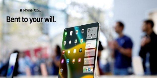 可折叠iPhone渲染视频曝光:后置三摄+超级屏幕,这外观你能接受?
