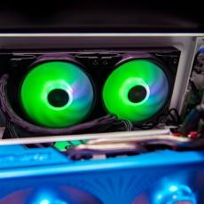 暴躁CPU要冷静,体验超频三凌镜240水冷散热器