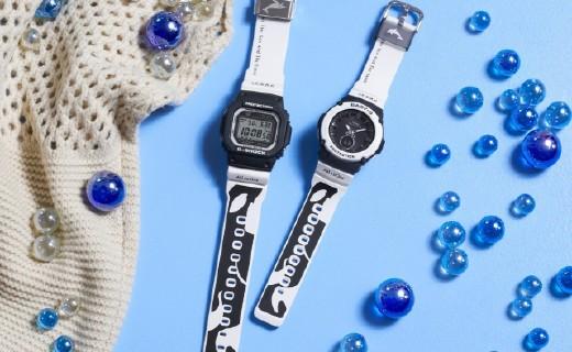 卡西歐推出虎鯨G-SHOCK、BABY-G手表,旨在喚醒環保意識