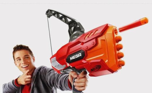 孩之寶MEGA系列軟彈弓箭:熱火系列射程最遠,可連續射擊