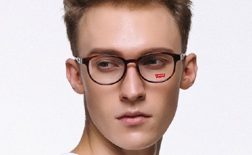 Levi's LS06258眼鏡架:僅小包紙巾重量,佩戴輕松無壓痕