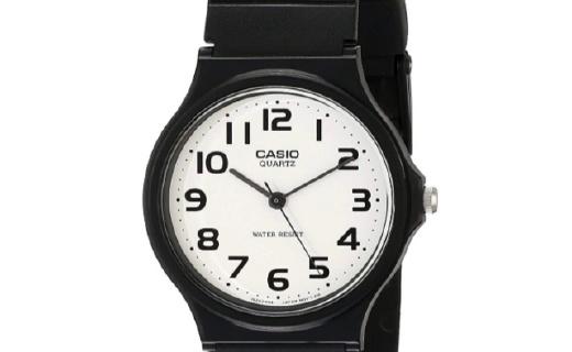 卡西欧STANDARD系列男士腕表:经典石英机芯,简约款百搭有型