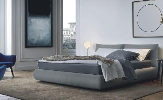 joooi布藝雙人床:多色選擇可拆洗,溫馨舒適可儲物