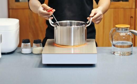 想要烹飪更健康?試試這款高端電陶爐,還有德國進口爐芯!